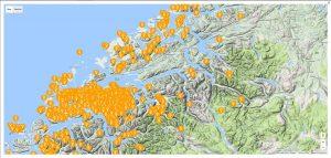 Kartvisning for møre & Romsdal